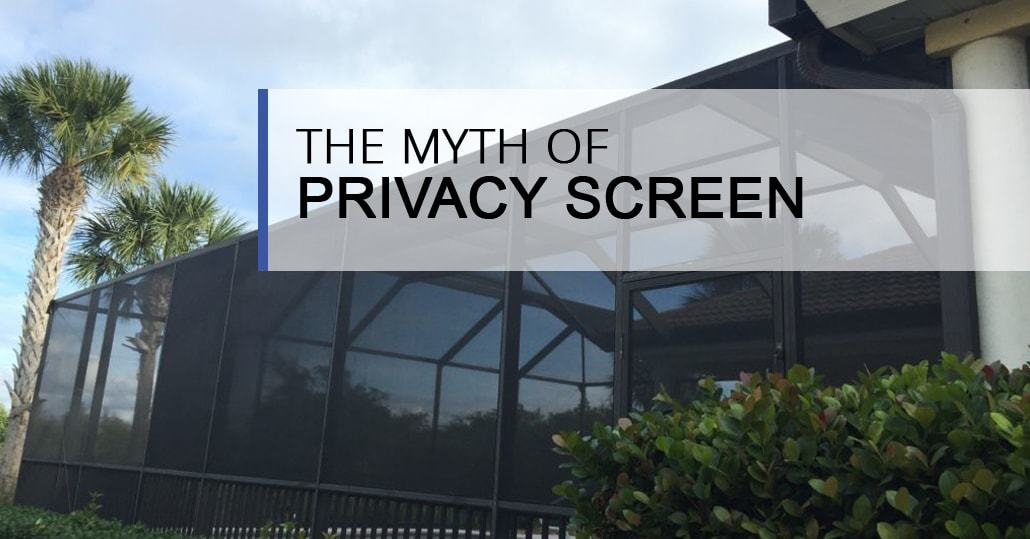 The Myth Of Privacy Screen On A Pool Enclosure