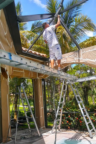 It Is Important To Clean The Aluminum Framing Of Your Screen Enclosure Or Pool Cage From Time Ensure Structure Will Look As Good Possible