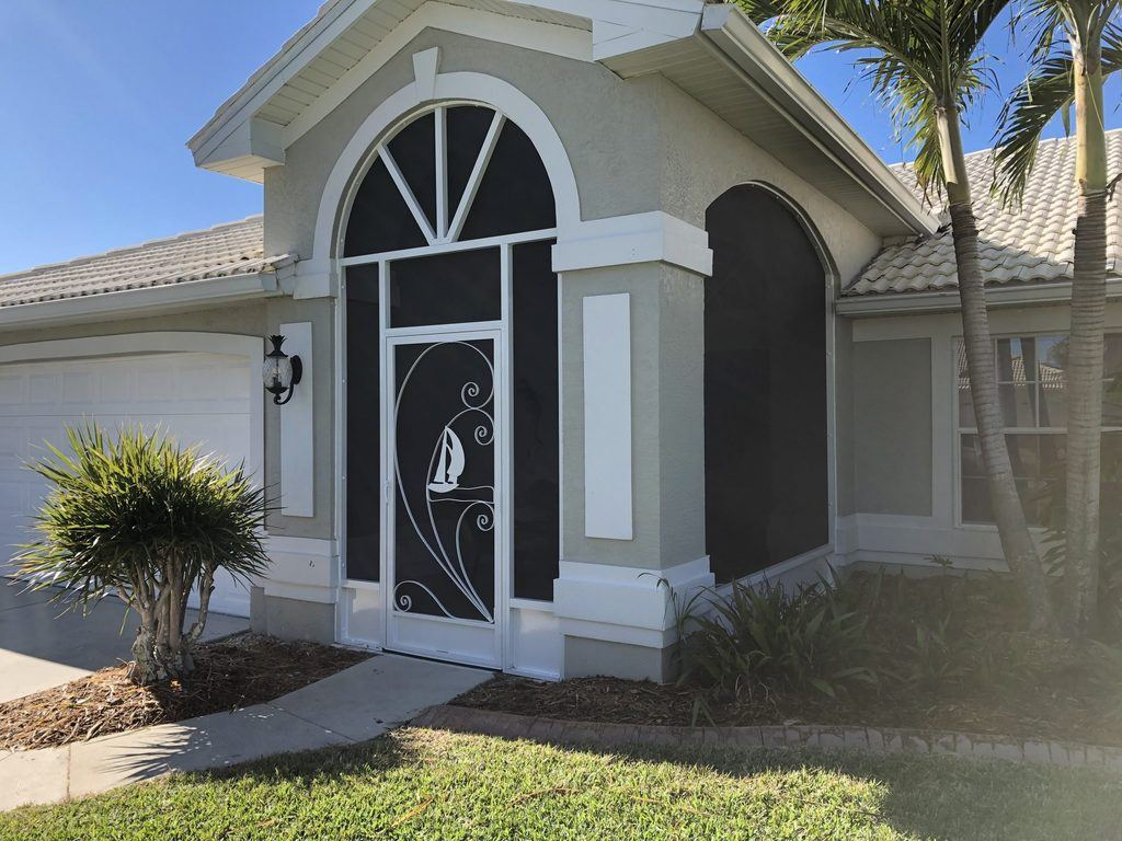 Installing A Front Entryway In Cape Coral Gulf Coast